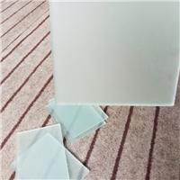 大型水磨砂 素板 无手印玉沙油砂浮法玻璃厂家直销批发