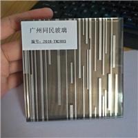 夹丝玻璃 工艺夹胶玻璃 特色玻璃广州同民