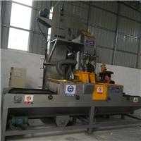铝合金挂具处理通过式抛丸机玻璃喷砂机