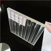 夹胶玻璃 超白条纹夹胶玻璃