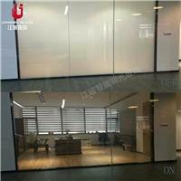 酒店卫浴调光玻璃隔断 电控雾化玻璃 通电透明