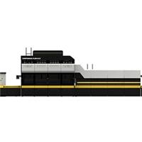 LD-EV 双曲面玻璃钢化炉(前挡)