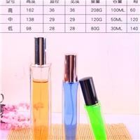 晶白料小水瓶,100ml 香水瓶,方形玻璃瓶