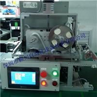 颍川玻璃检测出货包装彩盒贴标机 封口胶贴标机