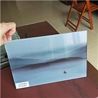 夹山水画玻璃 夹画玻璃 夹布玻璃 广州同民玻璃