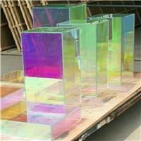 炫彩玻璃 幻彩玻璃 变色炫彩玻璃广州同民