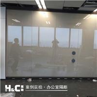 隐私玻璃 通电透明 断电雾化