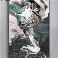 彩釉玻璃 装饰玻璃 高温打印