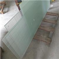 双面线条格子夹层玻璃 工艺夹胶玻璃