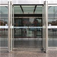 天津河西玻璃门安装维修 地弹簧安装