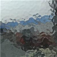 压花玻璃       3mm水纹