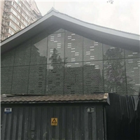 建筑幕墙玻璃,玻璃数码喷墨打印
