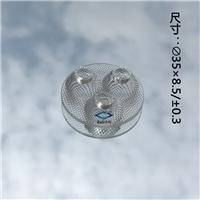 LED连体玻璃透镜 异形硼硅玻璃器件