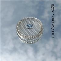 LED灯具高硼硅玻璃盖
