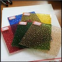 厂家批发压花玻璃四季海棠钻石玻璃加工一件起订