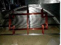 中空玻璃仿古装饰条 古典玻璃装饰架制作