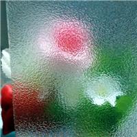 透明压花玻璃海棠花七巧板香梨等图案