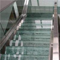 供应玻璃楼梯、台阶玻璃 珠三角地区玻璃供应厂家