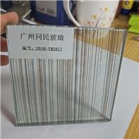 夹丝玻璃 夹绢丝玻璃 隔断夹丝玻璃