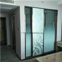 磨砂渐变玻璃供应 渐变玻璃 办公隔断渐变玻璃