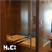 卫生间雾化玻璃 广州汇驰卫浴隔断玻璃