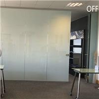 上海调光玻璃 办公室高透通电透明玻璃