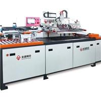 全通网印供应三工段全自动玻璃穿梭平面丝网印刷机