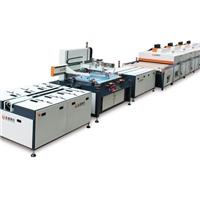 供应全自动平面玻璃丝印机 深圳全通网印机械