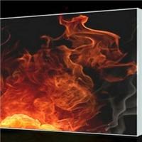 西藏防火玻璃单片铯钾防火玻璃规格