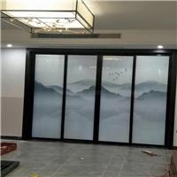 夹山水画玻璃 夹抽象画玻璃 夹画玻璃