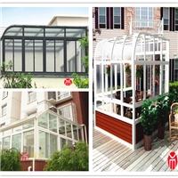 合肥用铝和玻璃搭建的房子-鼎力玻璃房制作