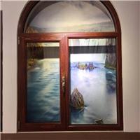 洛阳玻璃雨棚露台阳光房断桥铝门窗
