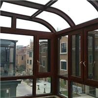 一楼断桥铝推拉入户平开门安全玻璃门窗