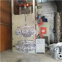 铝材制品喷砂机模具毛刺吊钩式抛丸机