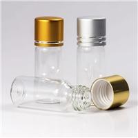 广州批发玻璃瓶1645电化铝盖装饰瓶子