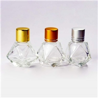 批发钻石形玻璃吊饰瓶工艺装饰瓶子