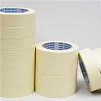 米黄色美纹纸胶带批发 装修装潢汽车喷涂遮蔽美纹纸