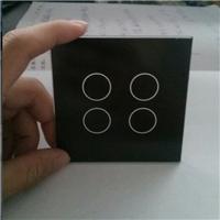 廠家定制玻璃 照明鋼化玻璃 投光燈絲印玻璃