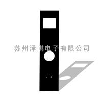 智能门锁面板  小型家电玻璃供应