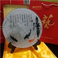 圆点艺术玻璃5d效果高档礼品