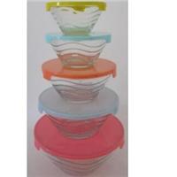 蚌埠采购-波浪纹玻璃碗