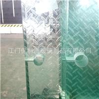 地面防滑玻璃 夹胶踏板防滑玻璃