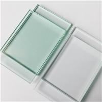 厂家可定制6mm信义超白钢化玻璃 台面家私超白玻璃加工