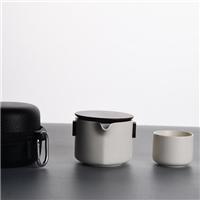 日式一壶两杯快客杯便携旅行茶具套装