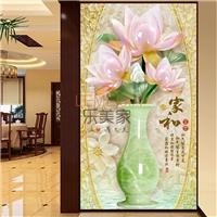 家和富贵AG玻璃写真玄关画 量大优惠