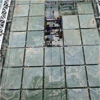大理石夹层玻璃 大理石热熔玻璃