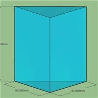 杭州采购-实心高硼硅玻璃三棱柱
