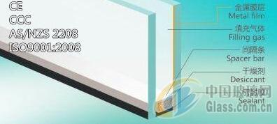 甘肃定西供应6+12A+6低辐射钢化中空玻璃