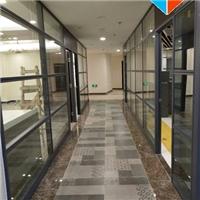 东莞办公室双层玻璃带百叶隔断工厂