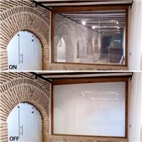 调光玻璃 雾化玻璃 通电玻璃生产制造